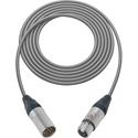 Sescom XLM6-XLF6-1 Audio Cable- Belden & Neutrik 6-Pin XLR Male to 6-Pin XLR Female Neutrik Connectors - 1 Foot