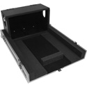 ProX XS-YQL1DHW Flight Hard Road Case for Yamaha QL1 Mixer Case with Doghouse and Wheels