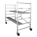 Xtend & Climb MAXI 6 Ft. Aluminum Scaffolding with Wheels