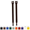 Rip-Tie Lite 1/2x18in Black 10 Rolls of 10