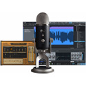 Blue Yeti Pro Studio Condenser USB Mic and Studio One Artist Recording Software