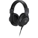 Yamaha HPH-MT5 Monitor Headphones 51 Ohm 100dB 20 Hz-20kHz w/ 40mm Driver - 1/4 In Adapter & Carry Bag Included - Black