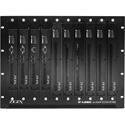 Zigen ILC IP-Logic 8U Rackmount Cage - Holds 10 IPPRO Transmitters and Receivers plus Essentials w/ Auto Cooling Fan