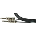 Sescom ZP16-3 Speaker Cable 16AWG Zip Series 1/4 TS Mono Male to 1/4 TS Mono Male - 3 Foot