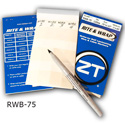 ZipTape RWB-75 Rite & Wrap Cable Marker Booklet 75