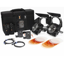 Zylight 26-01054 F8-200 Daylight Dual Head ENG Kit with Case- V-Mount