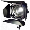 Zylight F8-B Black Light 365nm LED Fresnel with Barn Doors