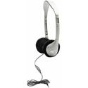 HamiltonBuhl HA2V SchoolMate Stereo/Mono Headphones with Volume Control and Anti-Lice Storage Bag