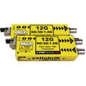 Lynx O-BD-1410 12Gbit SDI Bidirectional Fiber Transceiver - 10km  (PAIR - A and B version supplied) - Fiber LC Connector