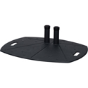 Premier Mounts TL-BASE Lightweight Dual-Pole Floor Stand Base with PSD-HDCA Adapter