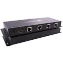 Smart-AVI HDX-400-PRO HDMI 4-Port Transmitter over Cat5e/Cat6/Cat6 STP Cables