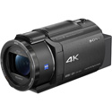 Sony FDRAX43/B 4K Handycam with Exmor R CMOS Sensor &  ZEISS Vario-Sonnar Lens
